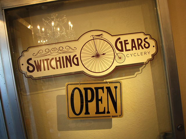 Switching Gears Cyclery OPEN