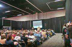audience for john hodgman's talk, wordstock 2008