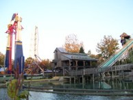 Cedar Point - Skyhawk and Snake River Falls