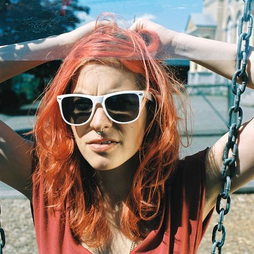 Danielle Sipple, swinging