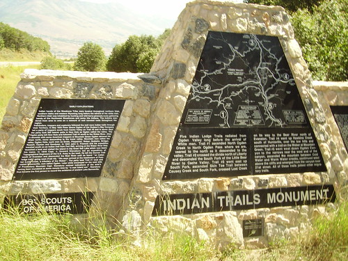 Indian trails monument