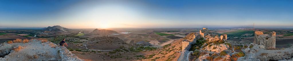 Snake Castle Panorama