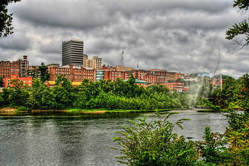 Lynchburg on a Cloudy Day