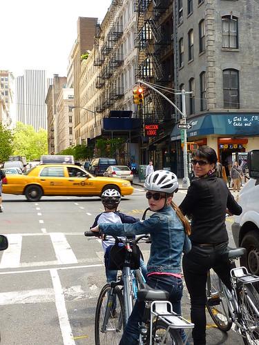 Cycling in Manhattan