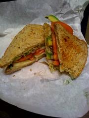 Hummus and veggie from DC Vegetarian