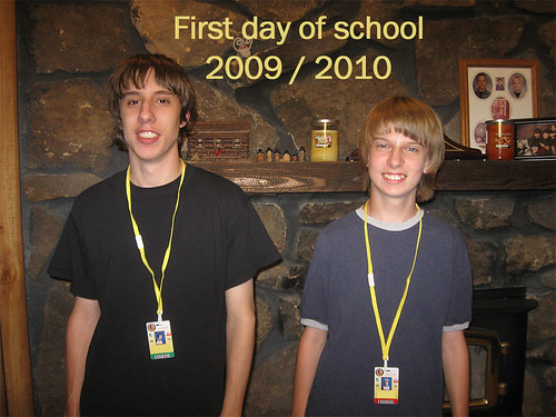 First Day of School 09