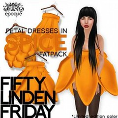 50L Friday 13 - (epoque) Petal Dresses - Spice FATPACK