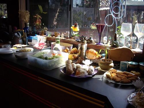 the pupu table