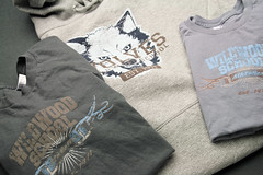 Wildwood School apparel by Hearken Creative Services, all three pieces