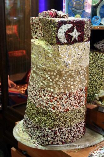 Halva, or Helva, Spice Bazaar, Istanbul, Turkey