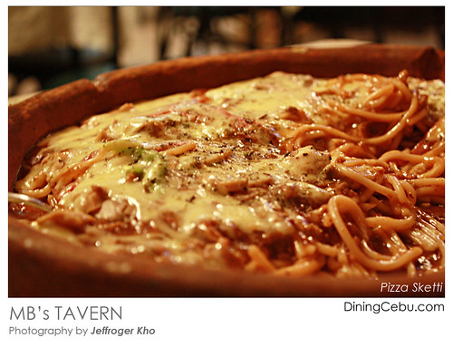 MB's Tavern - Pizza Sketti Food Photography by Jeffroger Kho