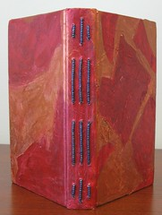 Red Longstitch Journal