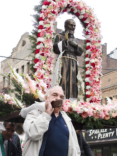 St. Joseph's Procession of San Pio by you.
