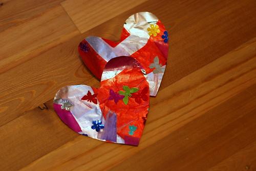 valentines, step 2