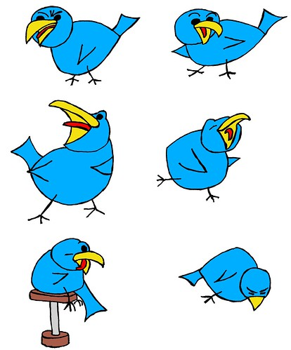 More Tweetbird designs