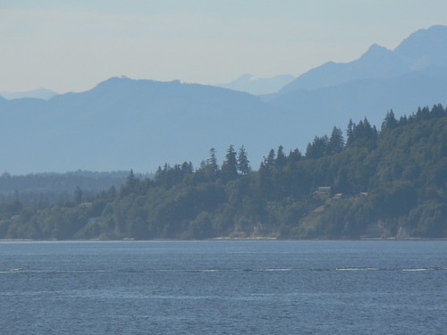 Approaching the town of Kingston/Olympic Peninsula