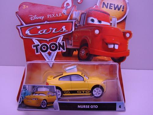 CARS Toons Nurse GTO