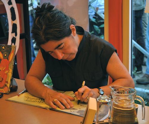 Debi Gliori signing 2