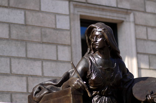 Personification of Art, Boston Public Library