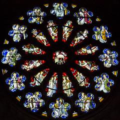 Saints and Elders around the Lamb