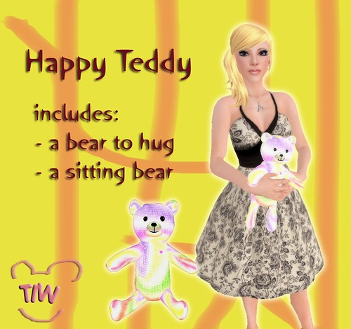 Happy Teddy ad