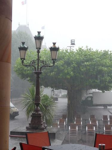 Rain on the (civil) wedding day