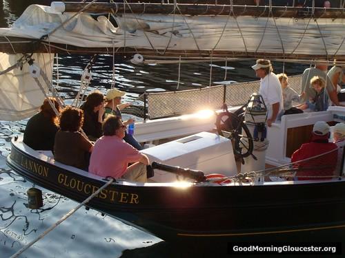 Schooner Thomas E Lannon Prepares For Full Moon Cruise