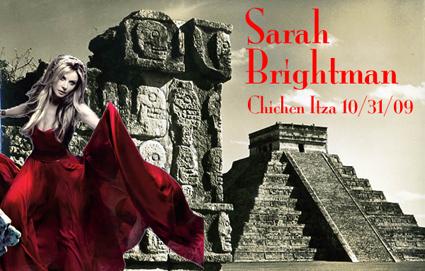 Sarah Brightman performs Halloween