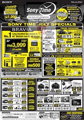 20090701 sony time july specials by shoppingNsales