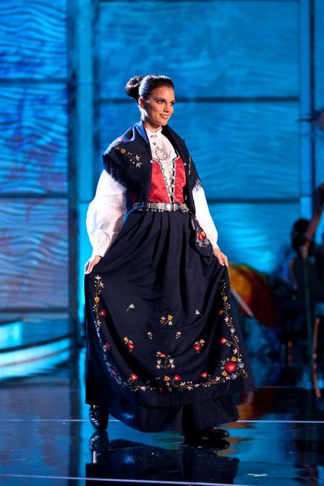 Traje Típico de Miss Noruega
