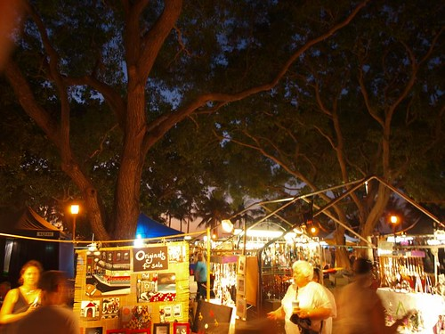 Mendil Beach night market