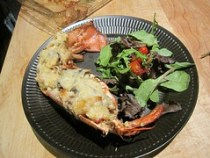 lobster thermidor - plated