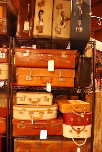 Vintage Suitcases at Camden Market