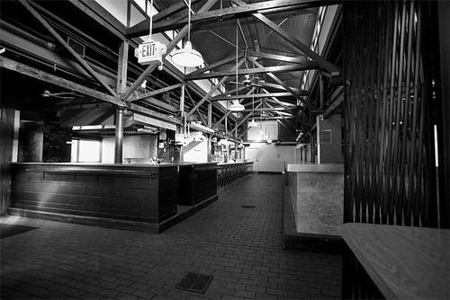 Empty Broadway Market