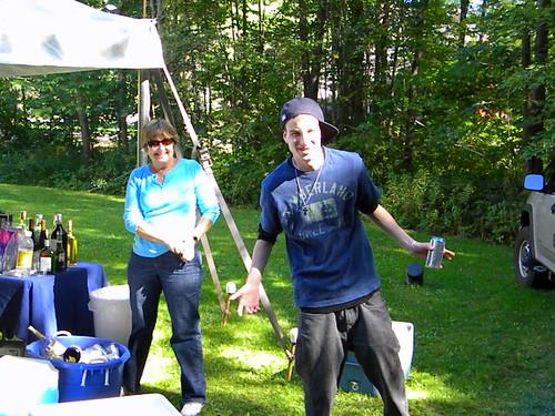 Aunt J, and Cousin M- Gosh I miss my cousins!