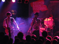 WhoMadeWho beim Reeperbahn Festival 2009