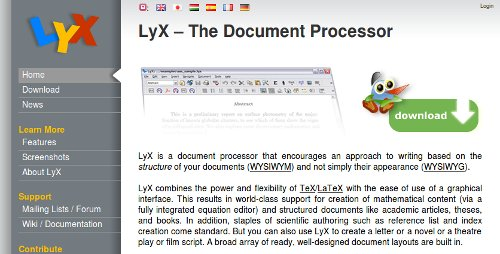 Screenshot-LyX