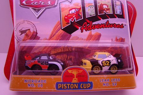 Piston Cup Mini Adventures and race rodz