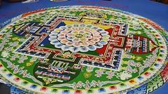 Tibetan Monks Perform Buddha Healing Sand Mand...