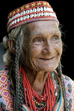 Very Old Women in Kalash
