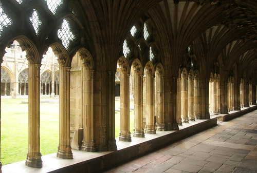 Cloister, Canterbury Cathedral