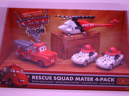 CARS Toons 4 pack fire