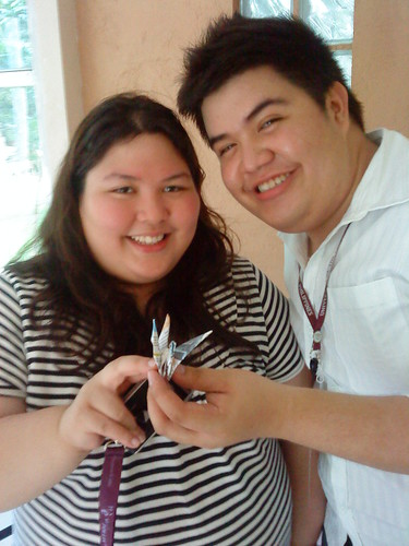 Paper Crane #19-20   Vada Rodriguez, 4th Year BS Economics and Nico Martin, 4th Year BA Public Administration