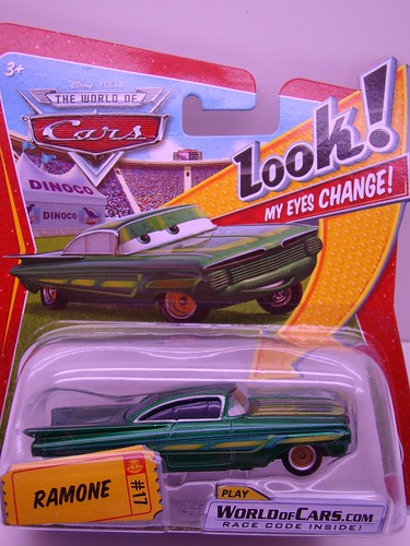 Disney CARS Lenticular Green Ramone