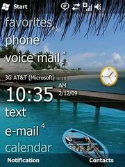 Windows Mobile 6.5 lock