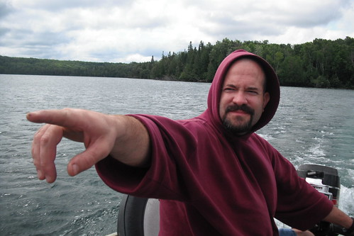 Uncle Andy Masterfully Directs the Boat
