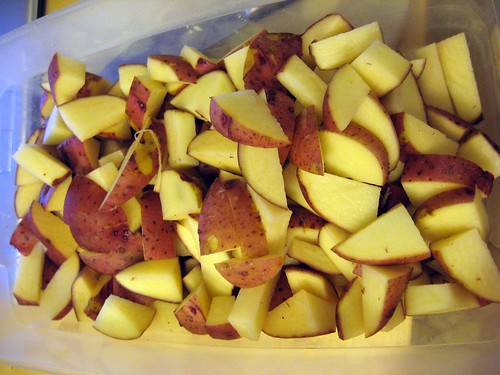 Red Potato Wedges (longer this time)