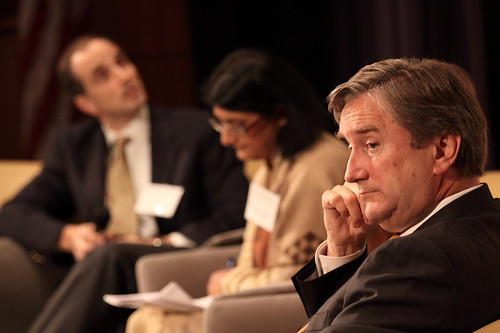 U.S. Congressman John F. Tierney in panel discussion