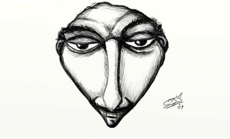 frenchie sketch