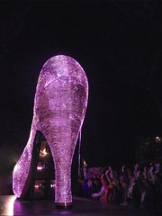 High Heel Shoe Float